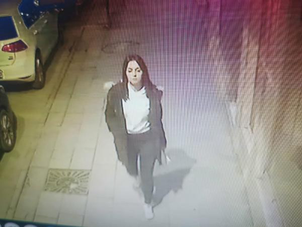 Katledilen 20 yaşındaki Ceren Özdemir'in son görüntüleri