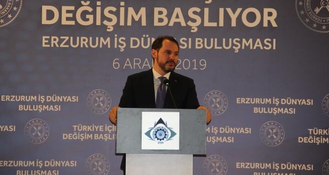 Bakan Albayrak: ''Dolara güvenenlerin şimdiki halini sormak lazım''