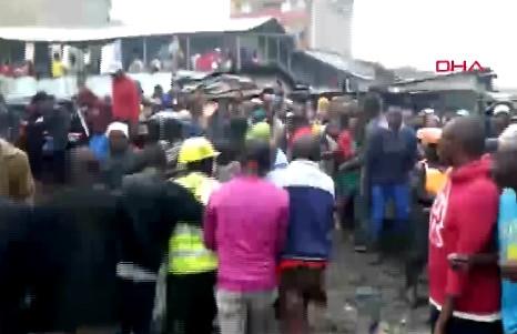6 katlı bina çöktü!