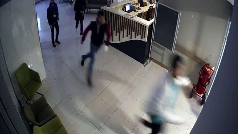 Bahçelievler'de hastanedeki saldırı kamerada !