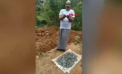 Lotodan kazandığı parayla satın aldığı arazide define buldu!