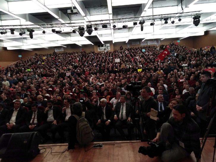 On binlerce EYT'li Ankara'da buluştu