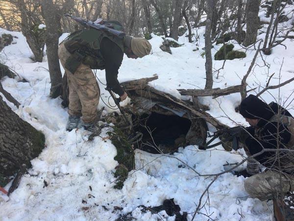 PKK'ya ağır darbe ! Mehmetçik hainlere nefes aldırmadı