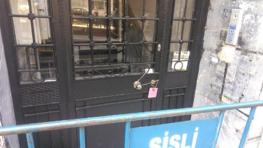 Şişli'de binanın kolonu çatladı; 4 bina mühürlendi