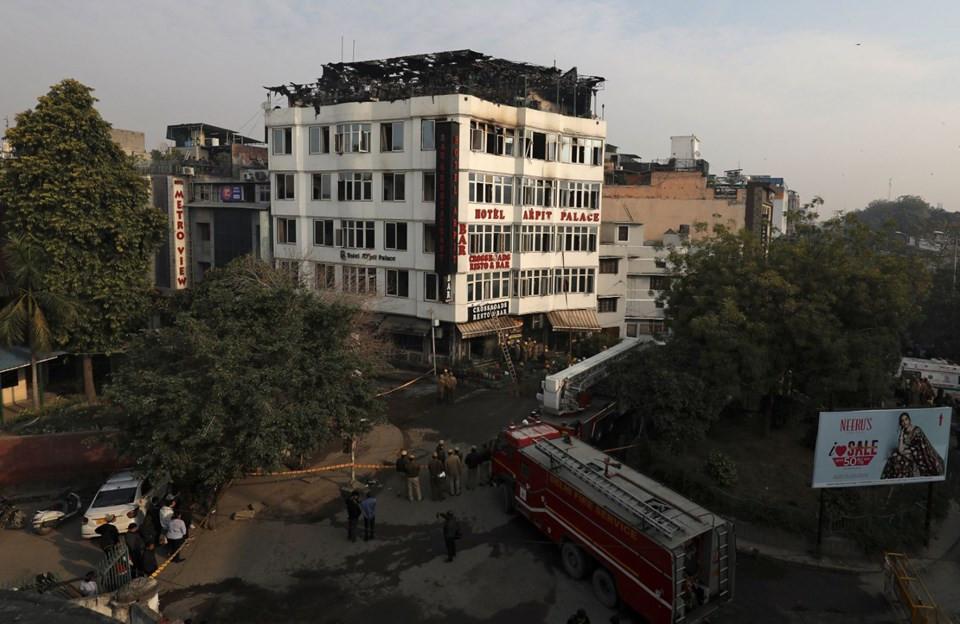 Otelde yangın faciası: 17 ölü, 4 yaralı