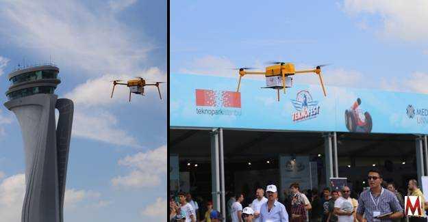 PTT drone taşımacılığına başlıyor
