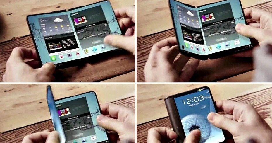 Samsung, katlanabilir telefon için tarih verdi