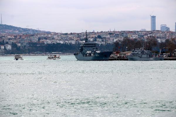 NATO'ya bağlı Alman gemisi İstanbul''da - Resim: 1