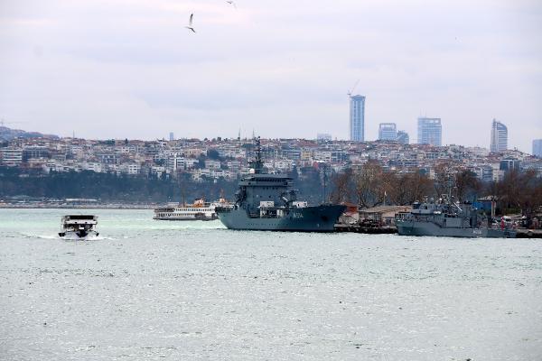 NATO'ya bağlı Alman gemisi İstanbul''da - Resim: 3