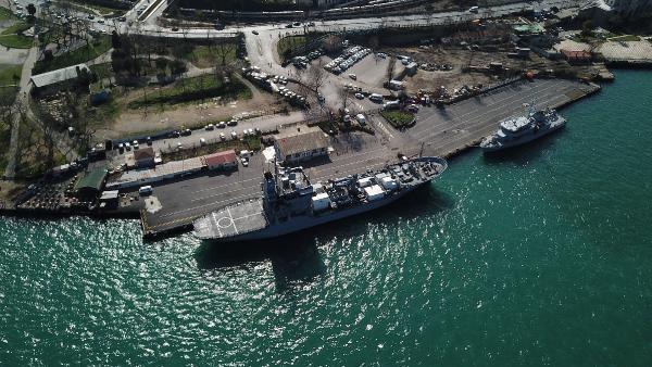 NATO'ya bağlı Alman gemisi İstanbul''da - Resim: 4