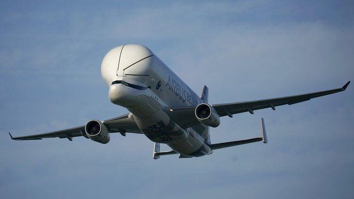 ''Uçan Balina'' gökyüzünde böyle görüntülendi