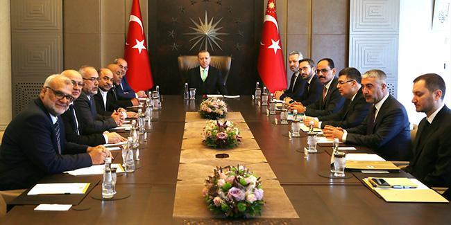 Erdoğan: ''Filistin davasında sırt dönmeyeceğiz''
