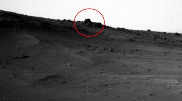 Mars'ta çekilen görüntü sosyal medyayı salladı !