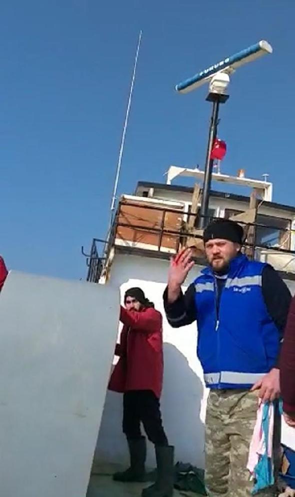Türk balıkçı teknesine ateş açıldı - Resim: 2