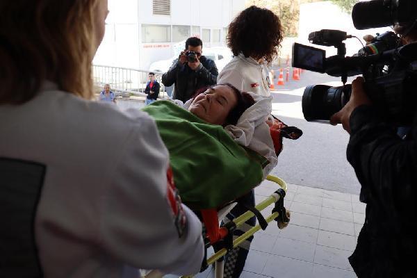 Hastaneye kaldırılan Fatma Girik'ten haber var