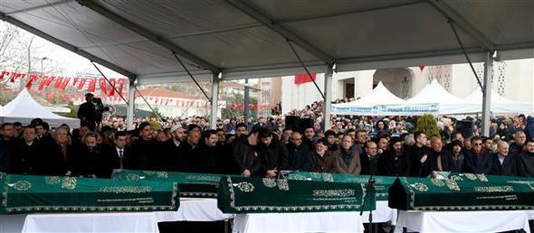 Alemdar ailesinden 9 kişi son yolculuğuna uğurlandı