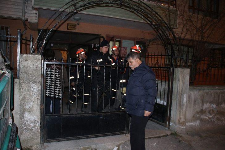 Ankara'da hareketli anlar ! Çökme tehlikesi yaşadı...