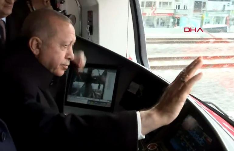 Tarihi açılışta Cumhurbaşkanı Erdoğan'dan önemli mesajlar
