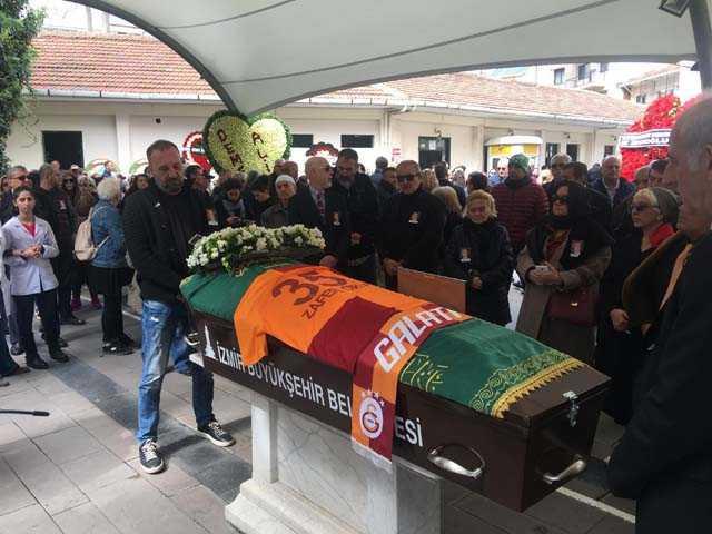 Zafer Çika'nın cenaze töreninden fotoğraflar