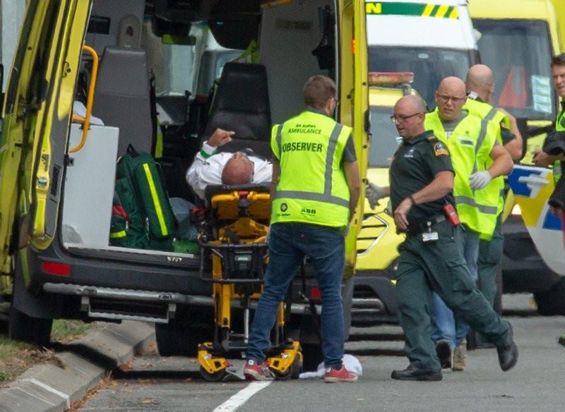 Yeni Zelanda'da cami saldırısından ilk görüntüler
