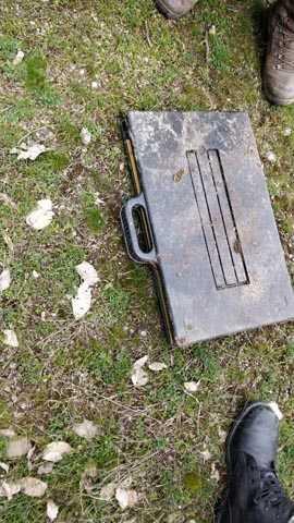 Batman'da toprağa gömülü el yapımı patlayıcı ele geçirildi