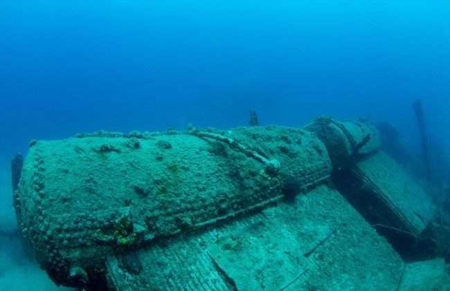 Çanakkale Boğazı'nın batık gemileri dalış turizmine kazandırılıyo