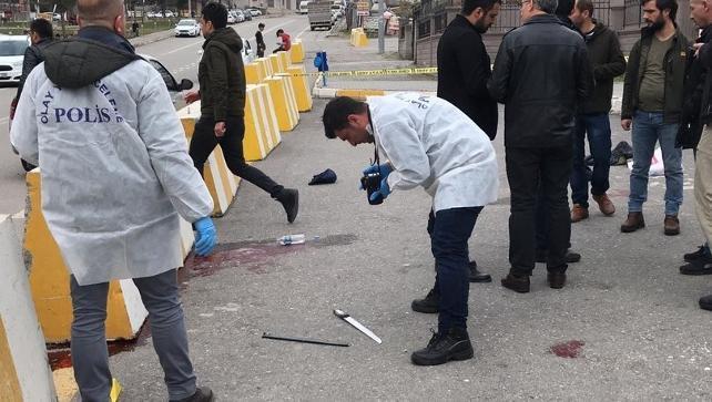Batman Adliyesi karıştı: 1'i polis 5 yaralı