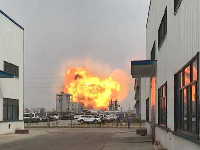 Çin'de kimyasal tesiste korkunç patlama: 47 ölü, 640 yaralı
