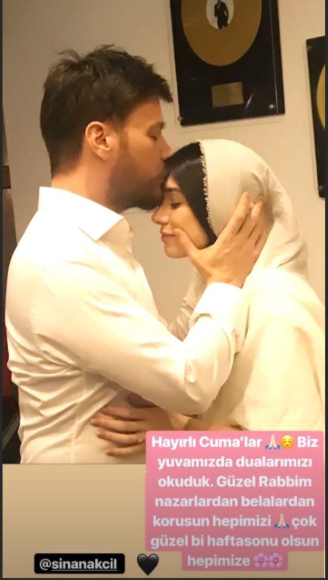 Sinan Akçıl'ın eşi Burcu Kıratlı tesettürlü fotoğraf paylaştı - Resim: 2