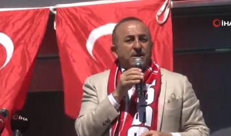 Bakan Çavuşoğlu'ndan Arap ülkelerine tepki
