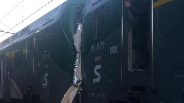 İtalya'da tren faciası: 50 yaralı var