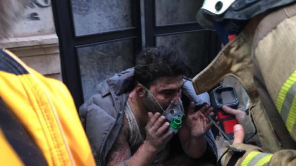 Beyoğlu'da yangın faciası: 4 ölü, 1 yaralı