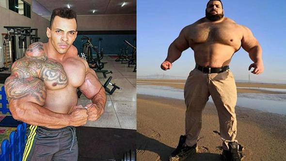 İranlı Hulk'a meydan okudu: Kafanı koparacağım
