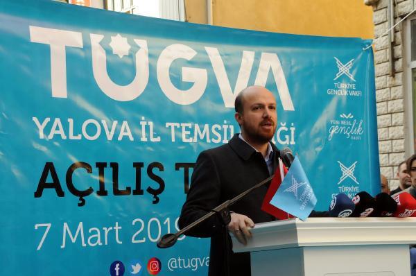 Bilal Erdoğan, ''Atatürk'ün sözü''yle seslendi