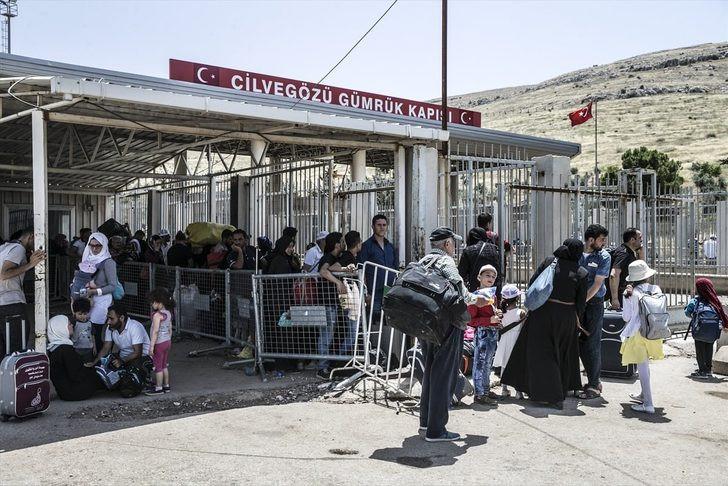 Suriyeliler evlerine dönüyor ! Rakam açıklandı
