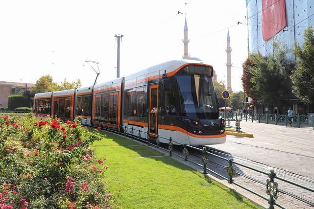 Eskişehir'de şehir hastanesi tramvay hattı hizmete başlıyor