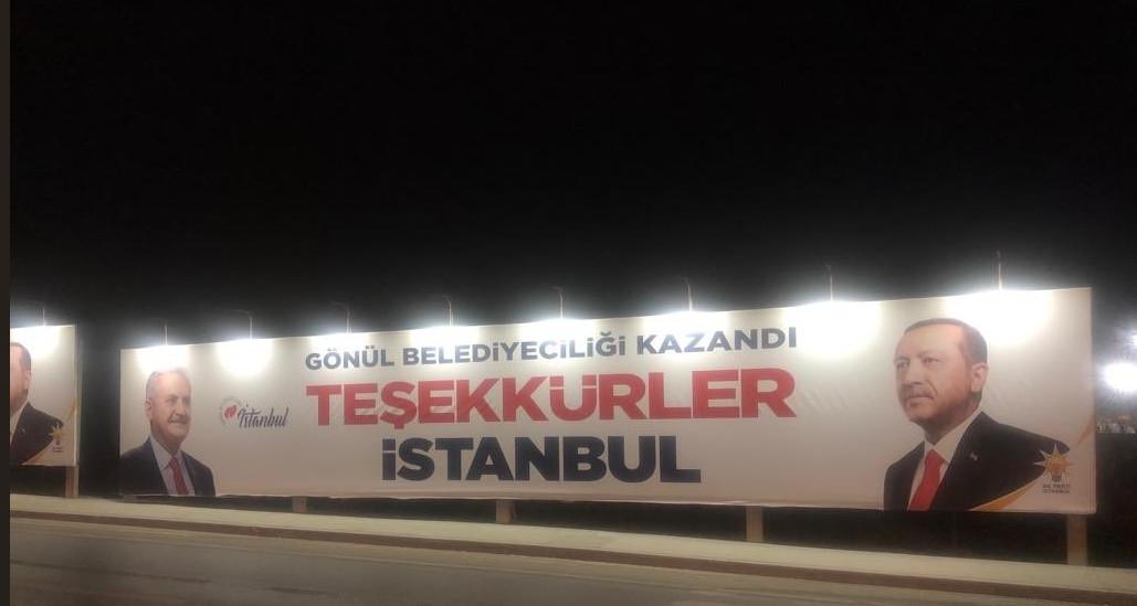 CHP'den AK Parti'nin ''teşekkür'' pankartlarına suç duyurusu