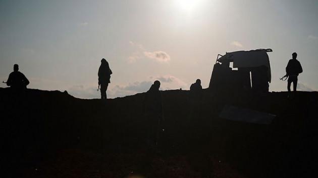 Teröristler Suriye'de ÖSO'ya saldırdı