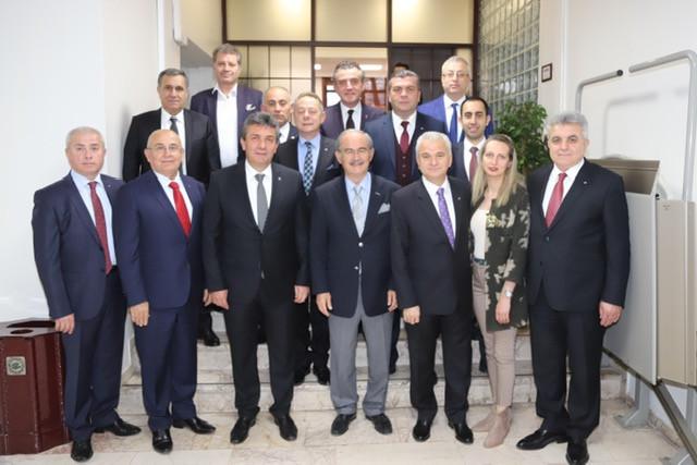 ETO'dan Büyükerşen'e tebrik ziyareti