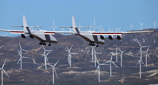 Dünyanın en büyük uçağı havalandı - Resim: 4