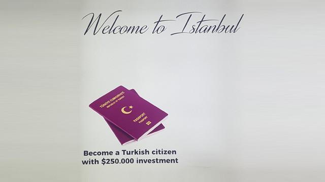 Yeni havalimanında Türkiye için skandal ilan