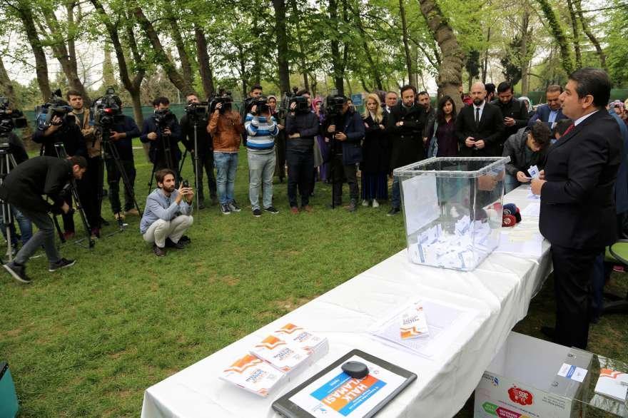 Millet Bahçesi'ndeki mangal referandumu sonuçlandı