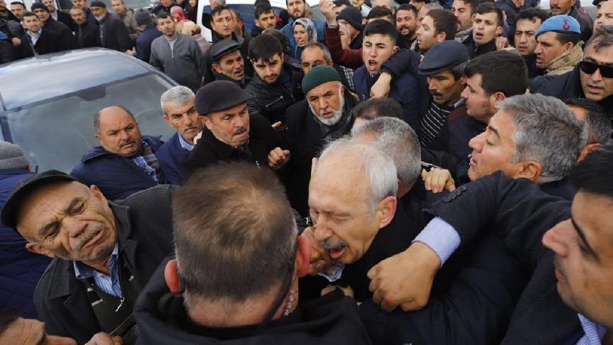 Kılıçdaroğlu'nun aracı, saldırı sonrası bu hale geldi