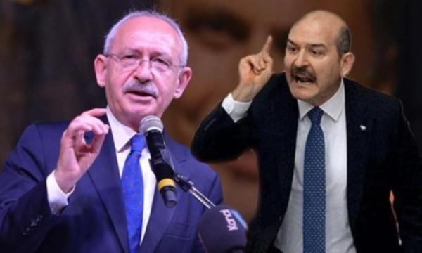 Kılıçdaroğlu'ndan Soylu'ya: ''Bakan olarak görmüyoruz''