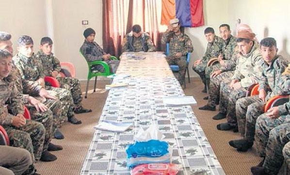 Türkiye'ye karşı ordu kurdular