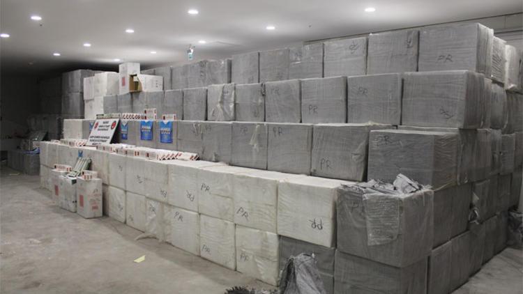 Sarp Sınır Kapısı'nda 6.5 milyon TL'lik operasyon