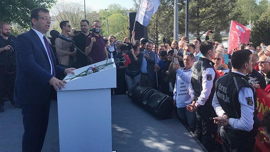 İmamoğlu'ndan Yunan yazara: ''Atatürk'e hakaret eden kişilere...''