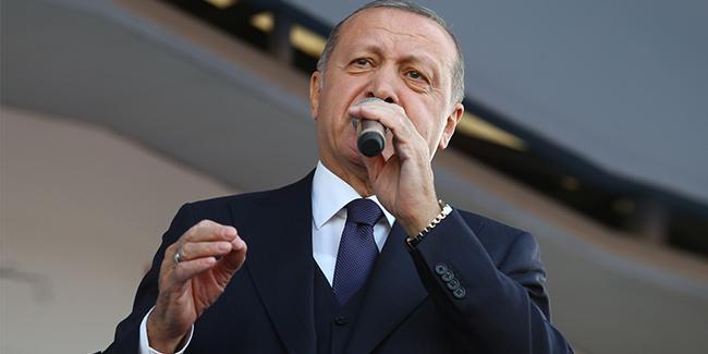 Erdoğan'dan İstanbul açıklaması: ''Seçimin bütünü usulsüz!''