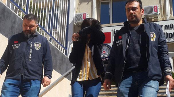 100 bin liralık ziynet eşyası çalan kadın yakalandı