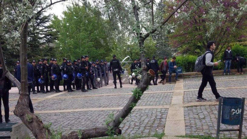 ODTÜ Onur Yürüyüşü'ne polis müdahalesi: 17 kişi gözaltında